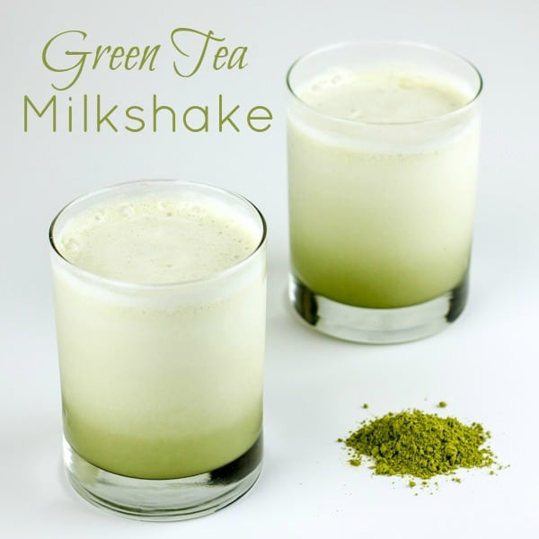 Green Tea Milkshake text