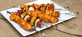 Grilled Korean Chicken Skewers