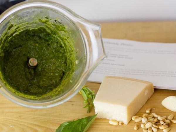 How to Make Pesto-2