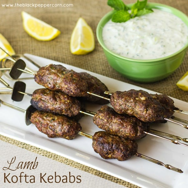 Lamb Kofta Kebabs text