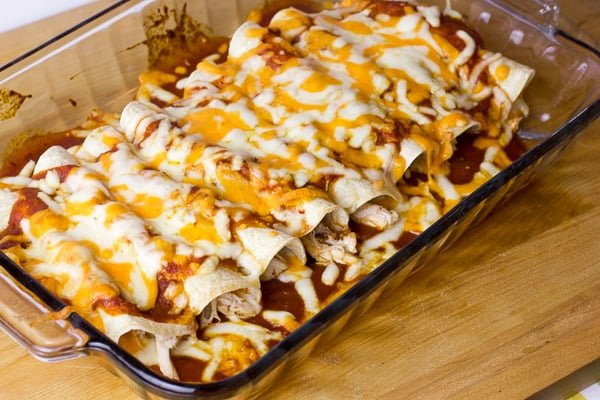 Chicken Enchilada Casserole Recipe