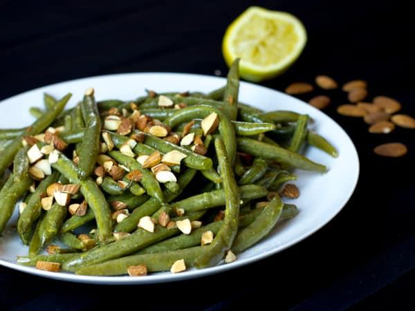 Sous Vide Green Beans Almandine