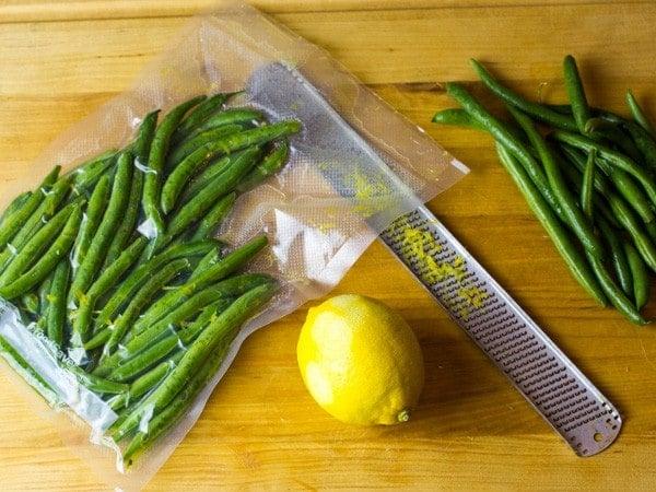 Sous Vide Green Beans Almondine-3