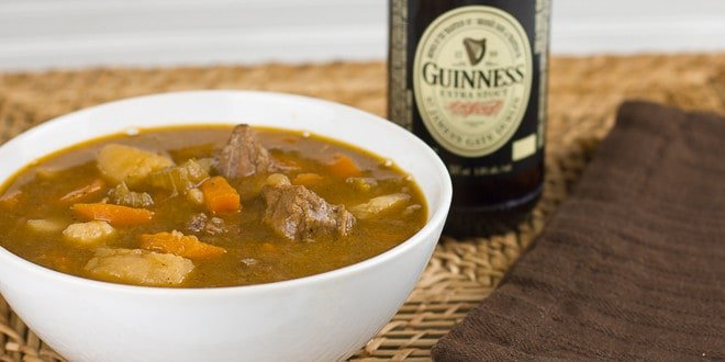 Beef and Guinness Stew Recipe - Oven, pressure cooker or crock pot