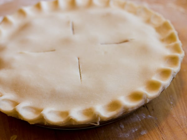 Classic Blueberry Pie-11
