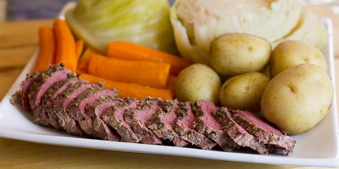 irish boiled dinner recipe new england jiggs colonist meal