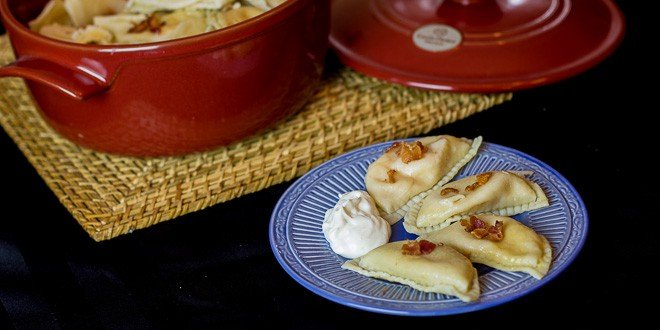 Traditional Ukrainian Pierogies
