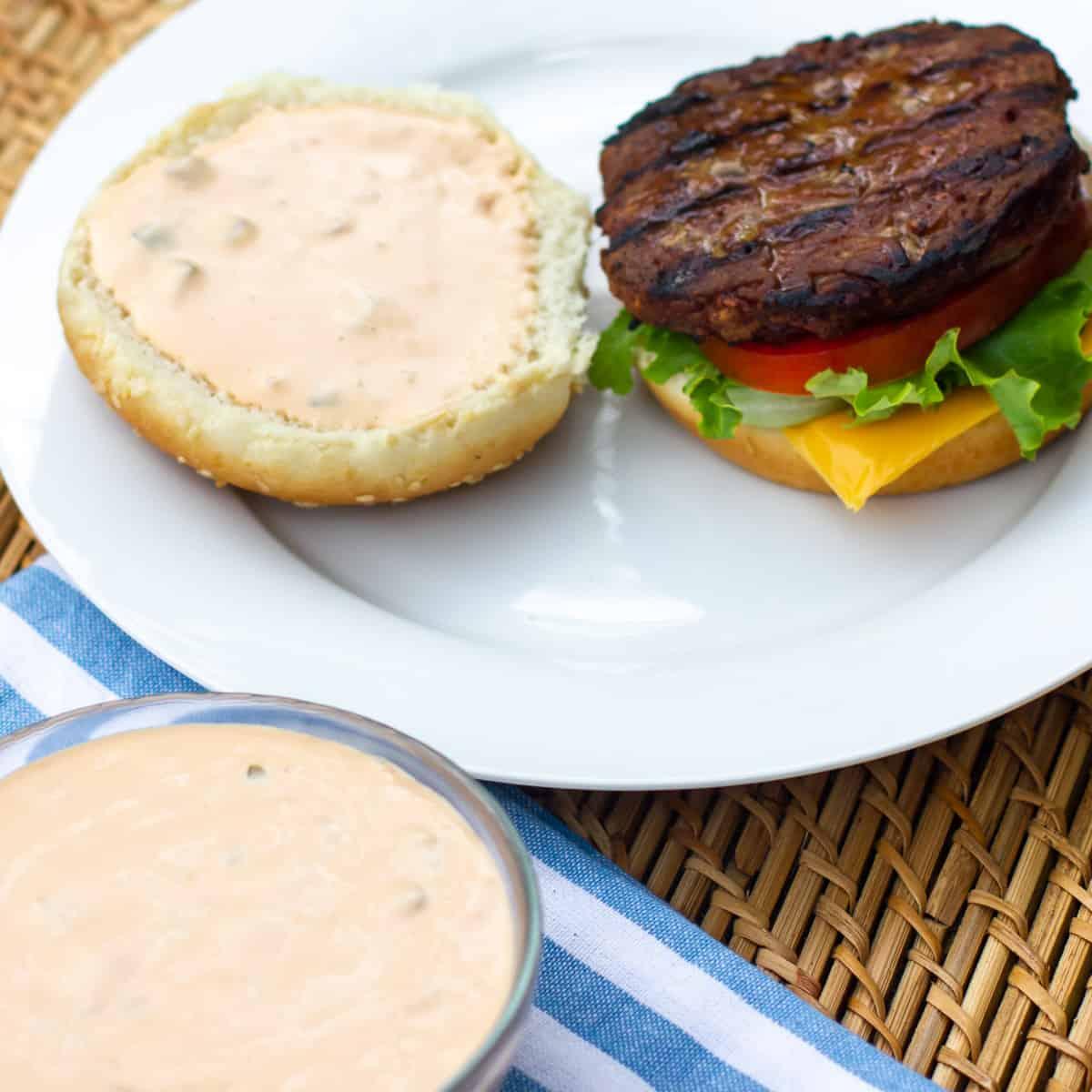 Make Big Mac burger sauce at home with the secret copycat recipe!
