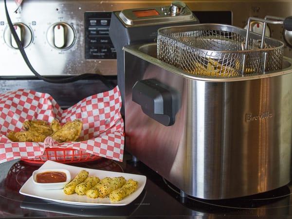Breville Smart Fryer Deep Fryer-12