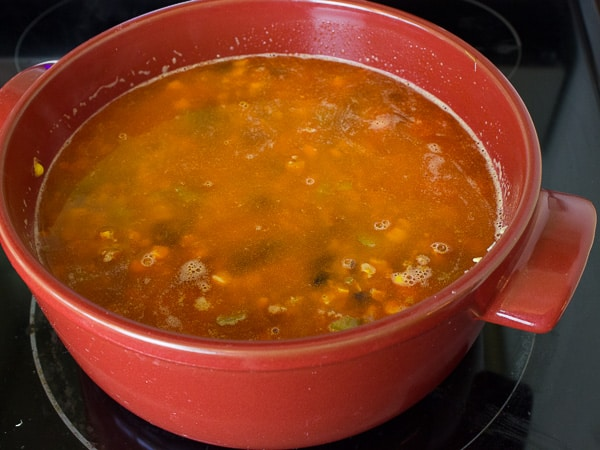 Chorizo Black Bean and Corn Jambalaya-10