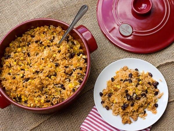 Chorizo Fiesta Rice Bake-3