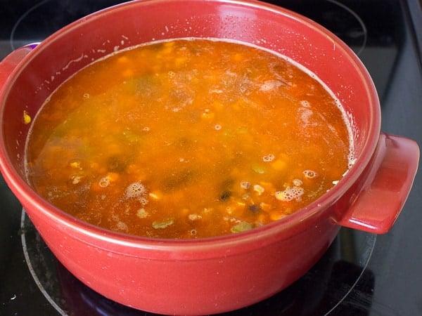 Chorizo Fiesta Rice Bake-6