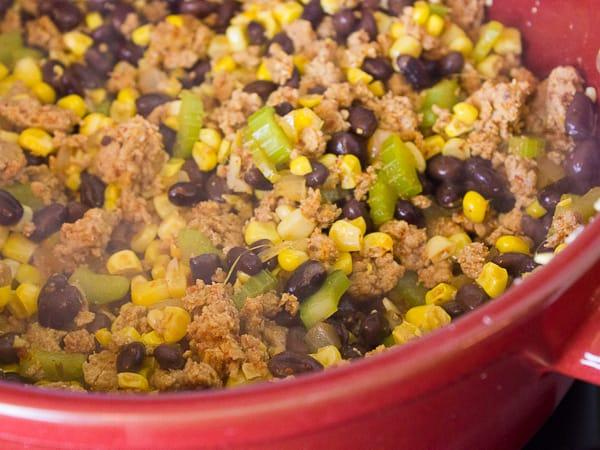 Chorizo Fiesta Rice Bake-8