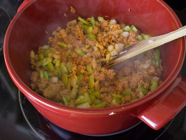 Chorizo Fiesta Rice Bake-9