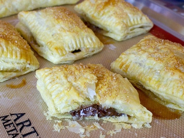 Nutella and Marshmallow Turnover Recipe - S'mores type taste!