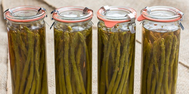 Pickled Asparagus - How to recipe and instructions
