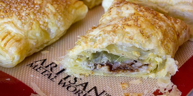 banana chocolate turnovers turnovers are a quick and easy treat to ...