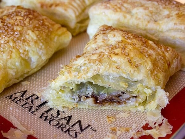 Chocolate Banana Turnovers-4