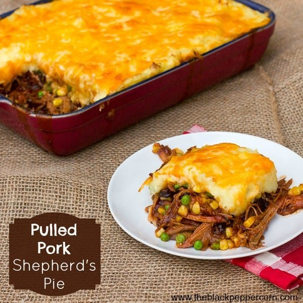 Pulled Pork Shepherds Pie pinterest