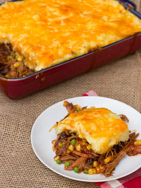 Pulled Pork Shepherds Pie