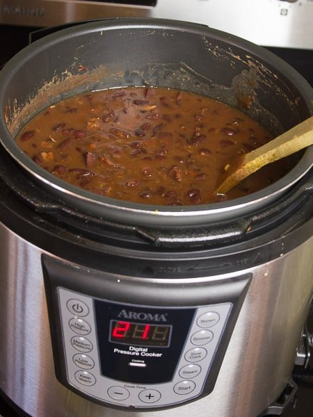 red beans and rice pressure cooker recipe. Black Bedroom Furniture Sets. Home Design Ideas