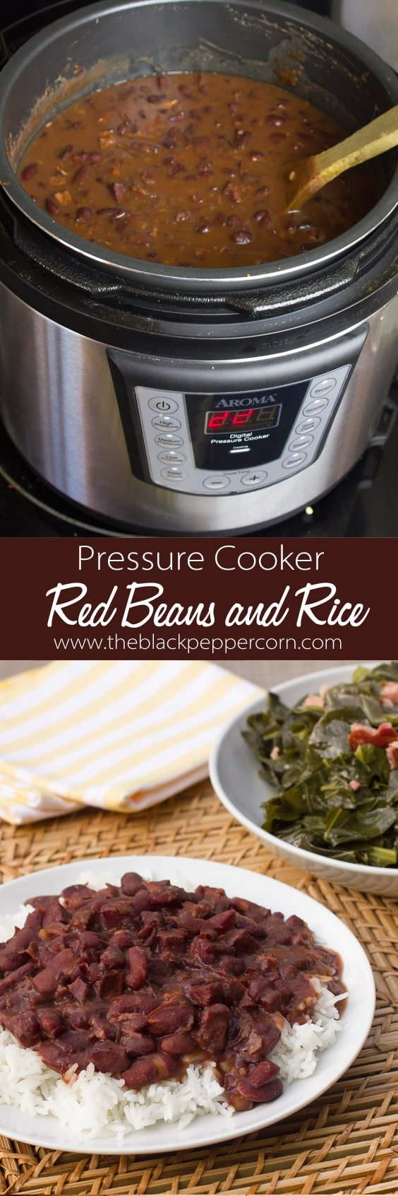 red beans and rice pressure cooker instant pot
