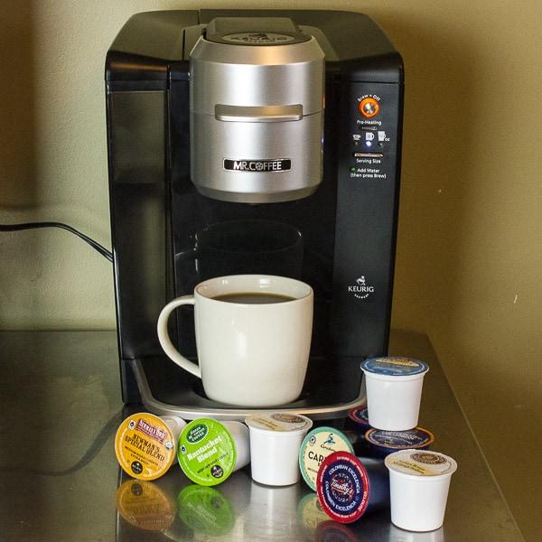 Mr Coffee Keurig Single Cup Brewing System K Cup-12