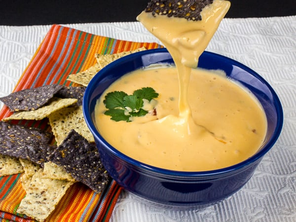 Queso dip with sodium citrate