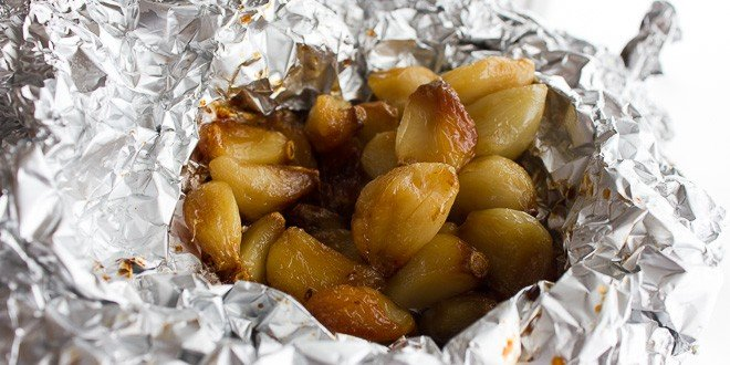 How to Roast Peeled Garlic Cloves in the Oven - Instructions and ...