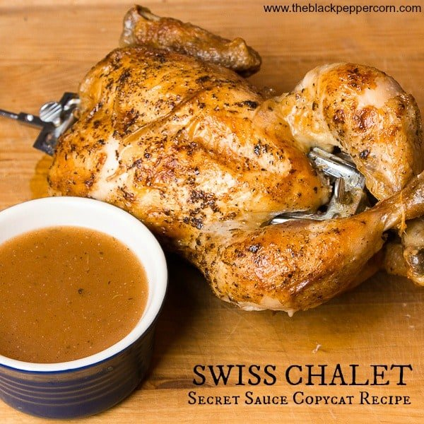 Swiss Chalet Sauce Copycat Recipe Pinterest