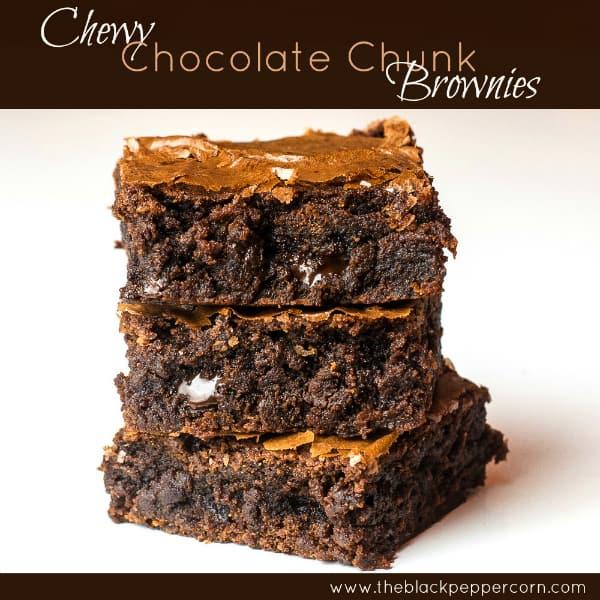 Chewy Chocolate Chunk Brownie-pinterest sm2
