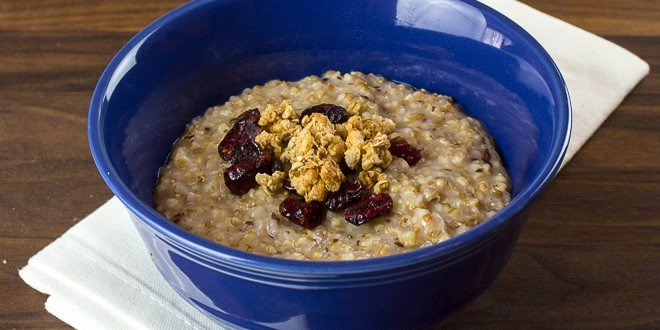 Pressure Cooker Steel Cut Oats and Red River Cereal Recipe