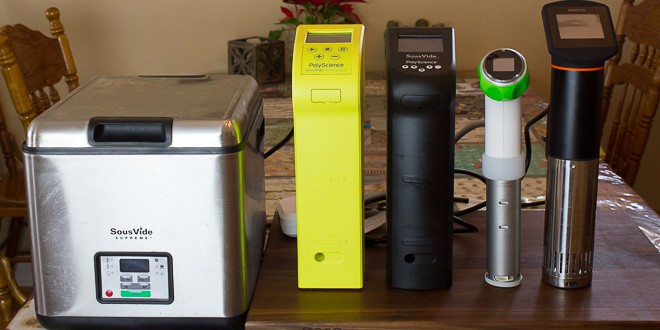 Sous Vide Machine Comparison