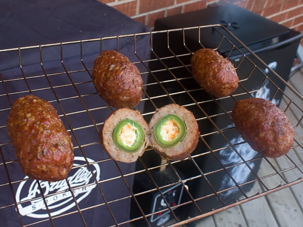 Smoked Armadillo Eggs-5
