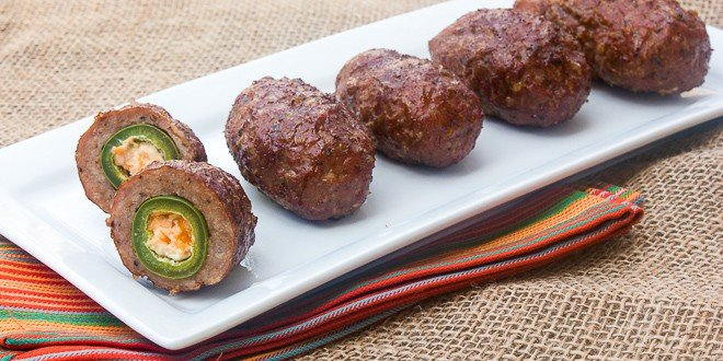 Armadillo Eggs (Cheese-Stuffed, Sausage-Wrapped, Grilled Jalapenos ...