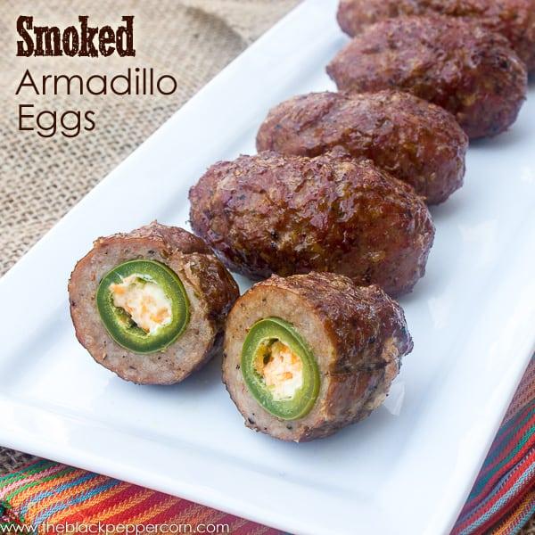 Smoked Armadillo Eggs pin