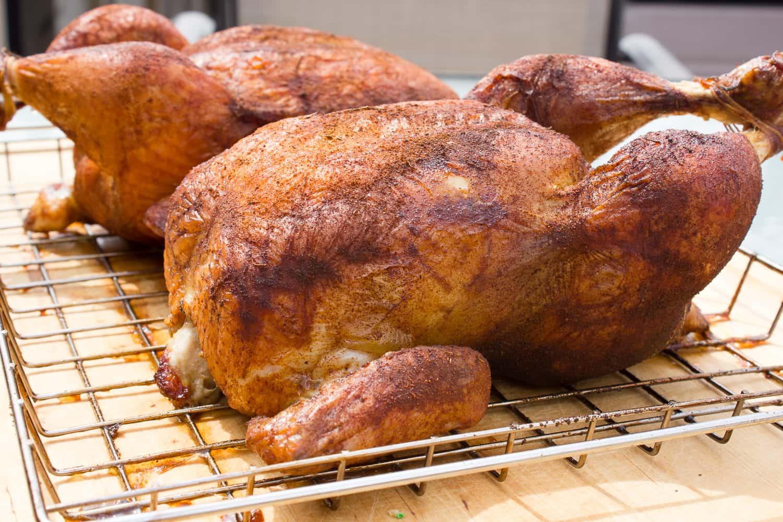 Как приготовить курицу в коптильне в домашних условиях