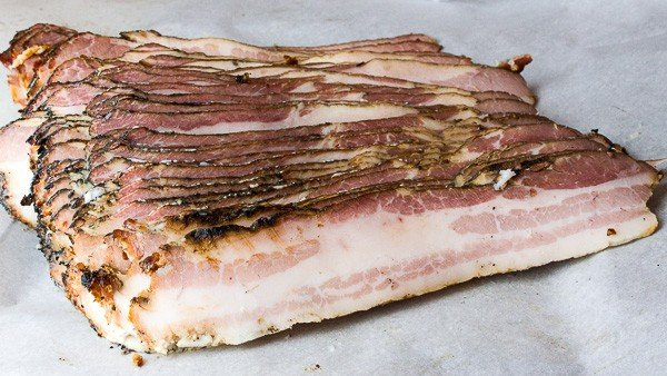 How to make bacon homemade hot smoked-30