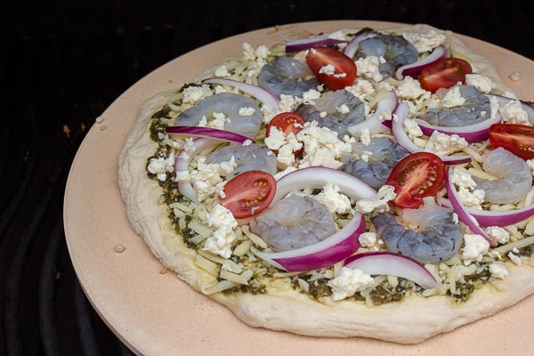 Shrimp and Pesto Pizza-6