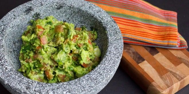 Grilled Avocado Guacamole Recipe