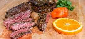 Grilled Tequila Habanero Orange Marinated Steak