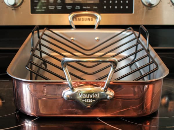 Mauviel Copper Tri-Ply Roaster with Rack Product Review