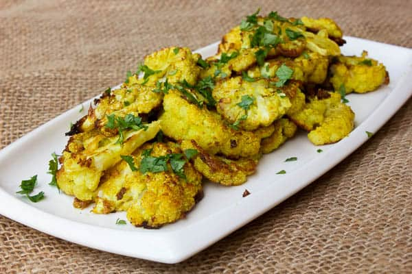 Roasted Curried Cauliflower-2