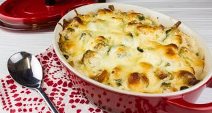Cheesy Ranch Brussels Sprout Bake-3