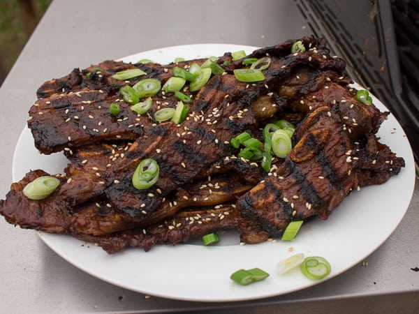 Kalbi - Korean BBQ Short Ribs Recipe