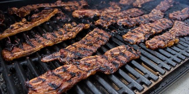 Kalbi korean bbq short ribs recipe for Bbq boneless short ribs