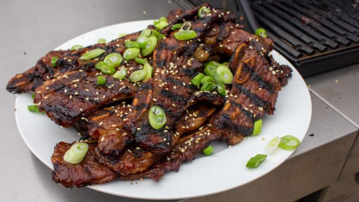 Kalbi Korean Bbq Short Ribs Recipe The Black Peppercorn