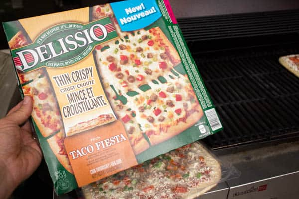 Delissio Pizza on the Gas Grill-2