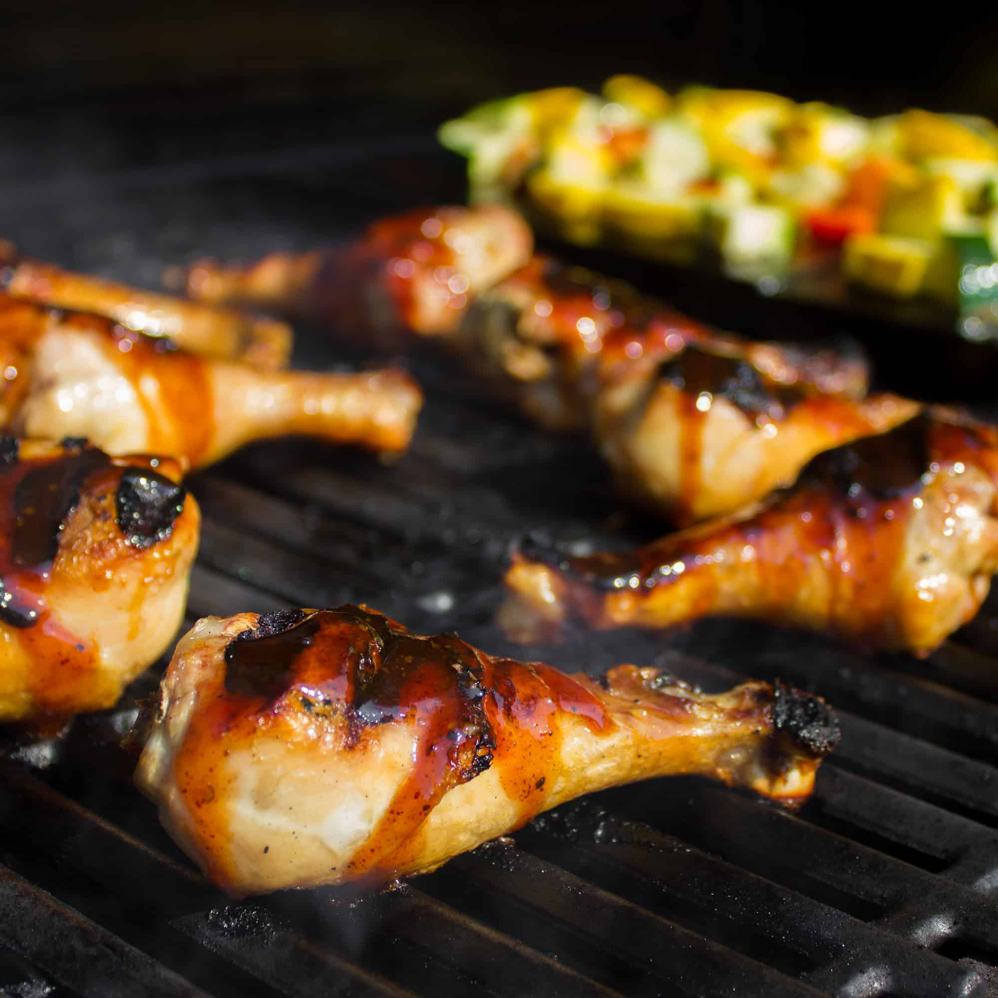 How to Grill Chicken Drumsticks - Gas Grill Recipe and Instructions
