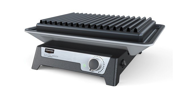 Downtown Grill Electric Hibachi Product Review